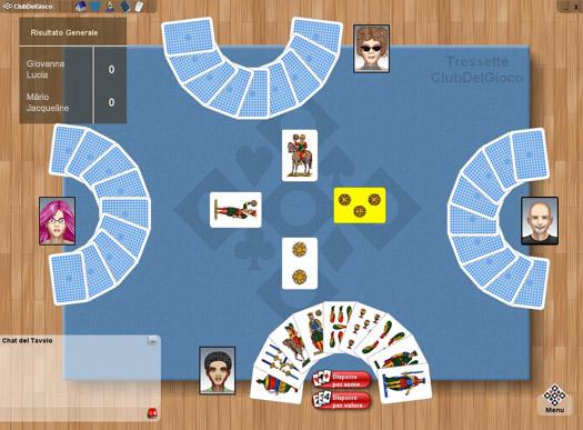 Tressette Online ClubDelGioco
