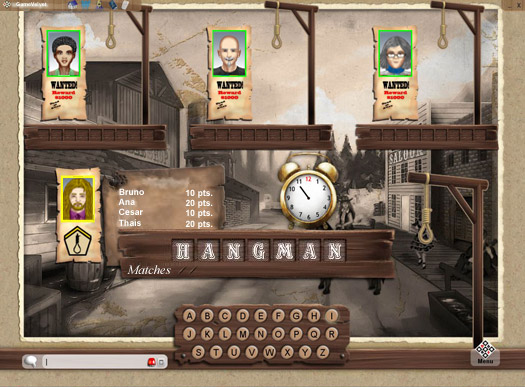 Hangman Online GameVelvet