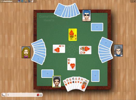 Hearts Online GameVelvet