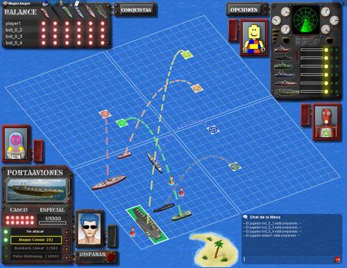 Combate Naval  Online MagnoJuegos