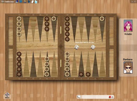 Backgammon Online ClubDeJeux