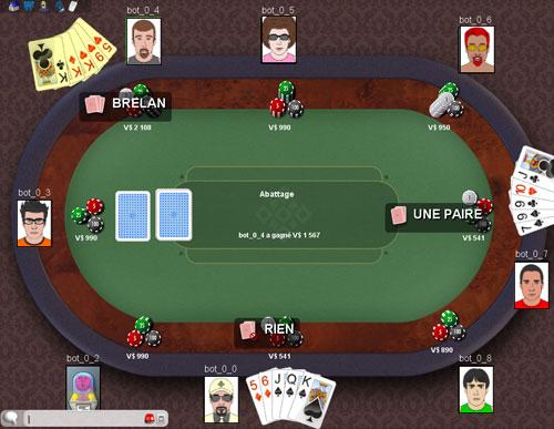 Poker Online ClubDeJeux