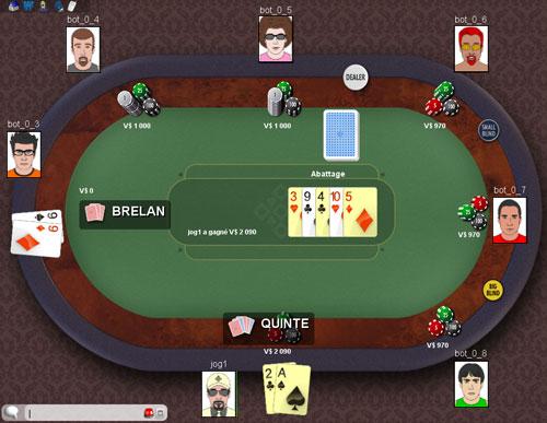 Texas Hold'em Online ClubDeJeux