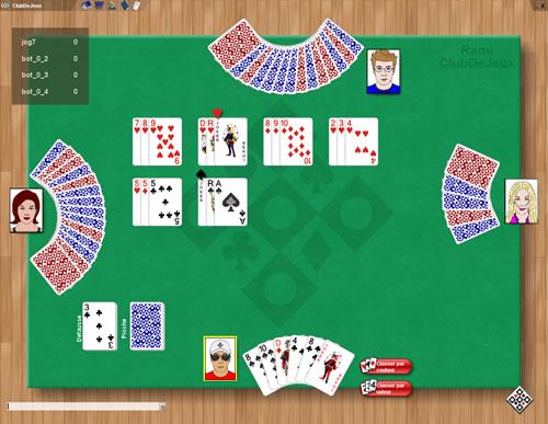 jeu cartes rami 51 gratuit