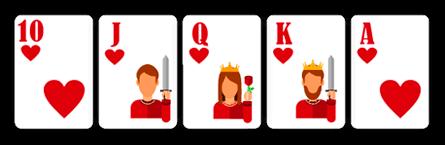 Royal Straight Flush - Poker