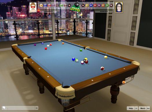 Palla 8-3D Online ClubDelGioco