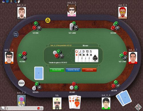 Texas Hold'em Online ClubDelGioco