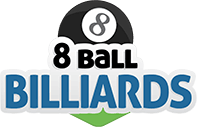 logo 8 Ball Billiards 2D - GameVelvet