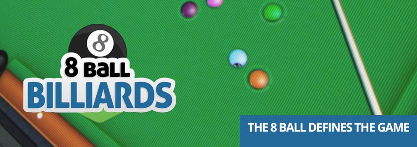 banner 8 Ball Billiards 2D